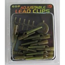 ADJUSTABLE LEAD CLIPS