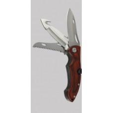 Нож с 3 остриета дърво 166