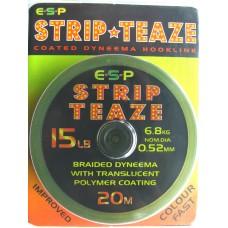 Strip-Teaze 20m Gravel Brown 15lb